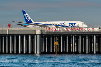 JA804A - ANA - All Nippon Airways Boeing 787-8 Dreamliner