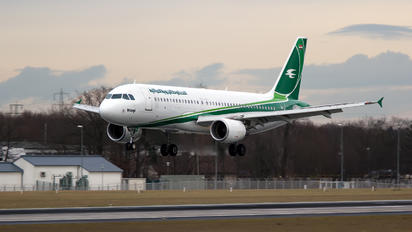 YI-ARA - Iraqi Airways Airbus A320