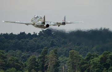 G-HELV - Aviation Heritage de Havilland DH.115 Vampire T.55
