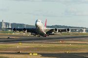 VH-OQB - QANTAS Airbus A380 aircraft