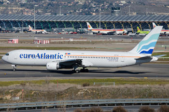 CS-TLO - Euro Atlantic Airways Boeing 767-300ER