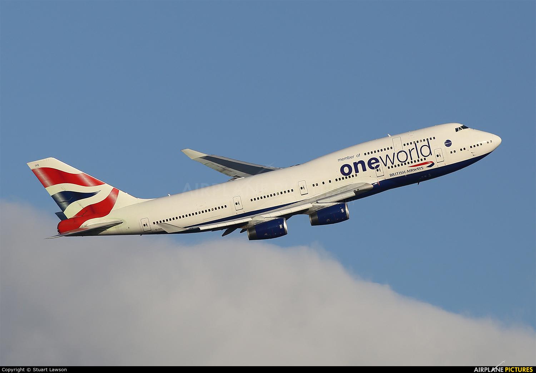 British Airways G-CIVD aircraft at London - Heathrow