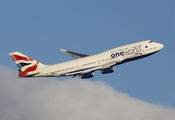 G-CIVD - British Airways Boeing 747-400 aircraft