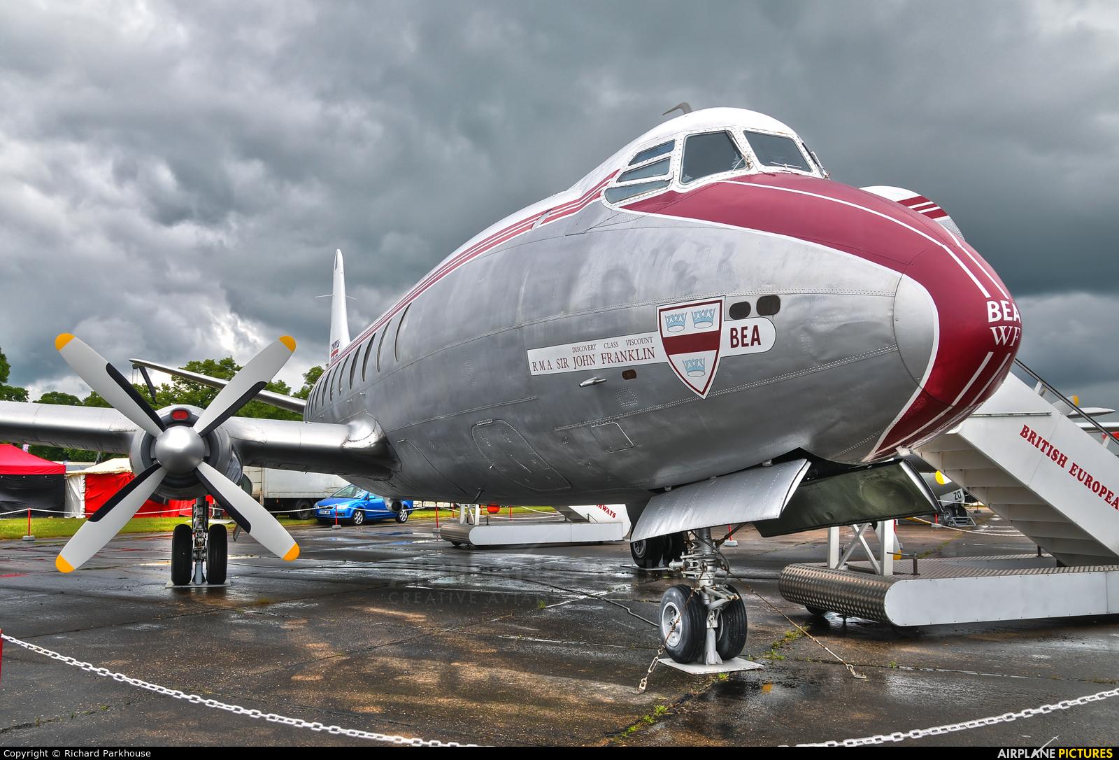 BEA - British European Airways G-ALWF aircraft at Duxford
