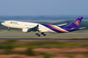 HS-TEJ - Thai Airways Airbus A330-300