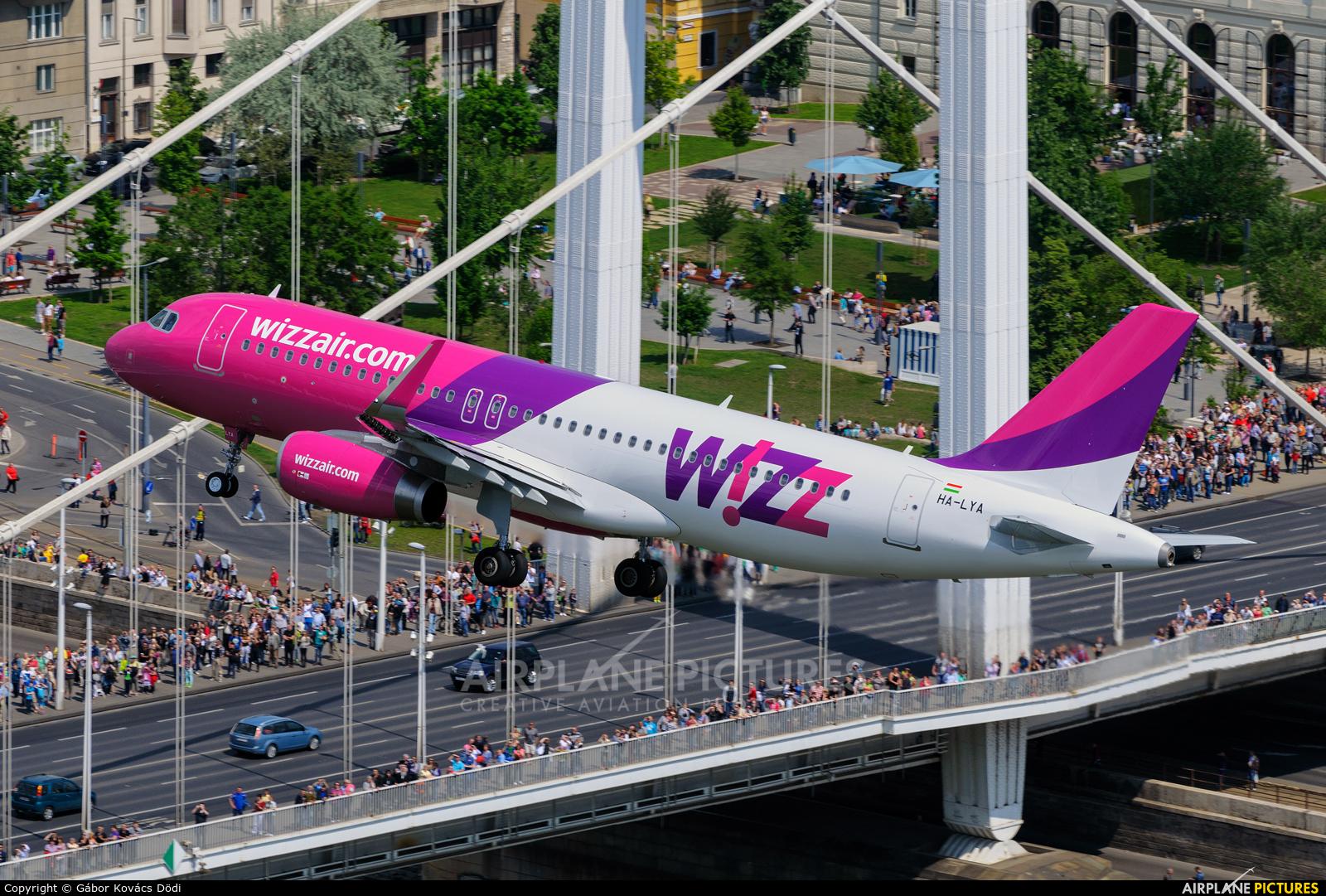 Wizz Air HA-LYA aircraft at Off Airport - Hungary