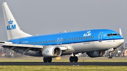 PH-BXH - KLM Boeing 737-800