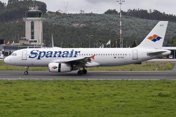 EC-KOX - Spanair Airbus A320