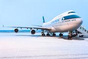B-HUE - Cathay Pacific Boeing 747-400 aircraft