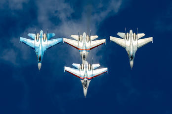 "- - Russia - Air Force ""Falcons of Russia"" Sukhoi Su-27UB"