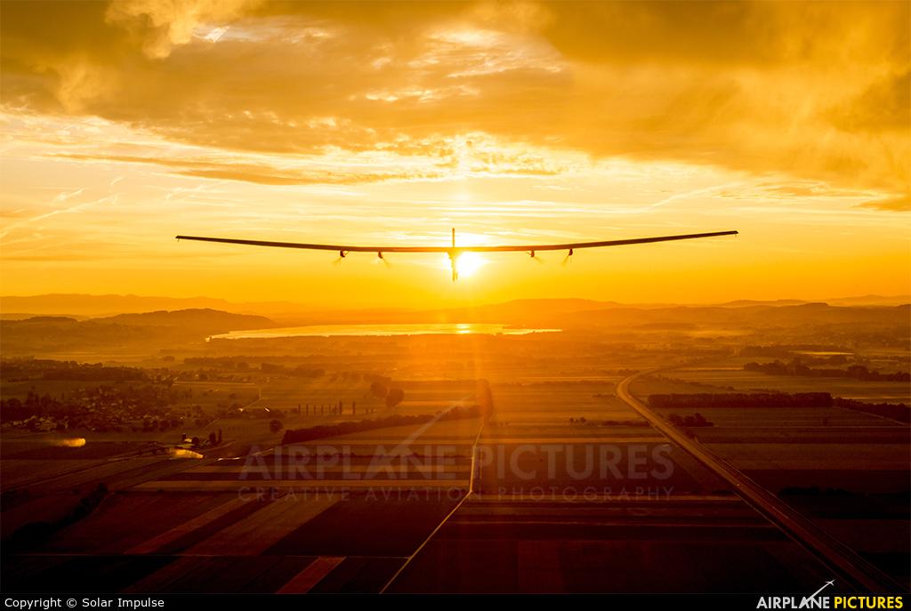 Solar Impulse HB-SIB aircraft at Payerne
