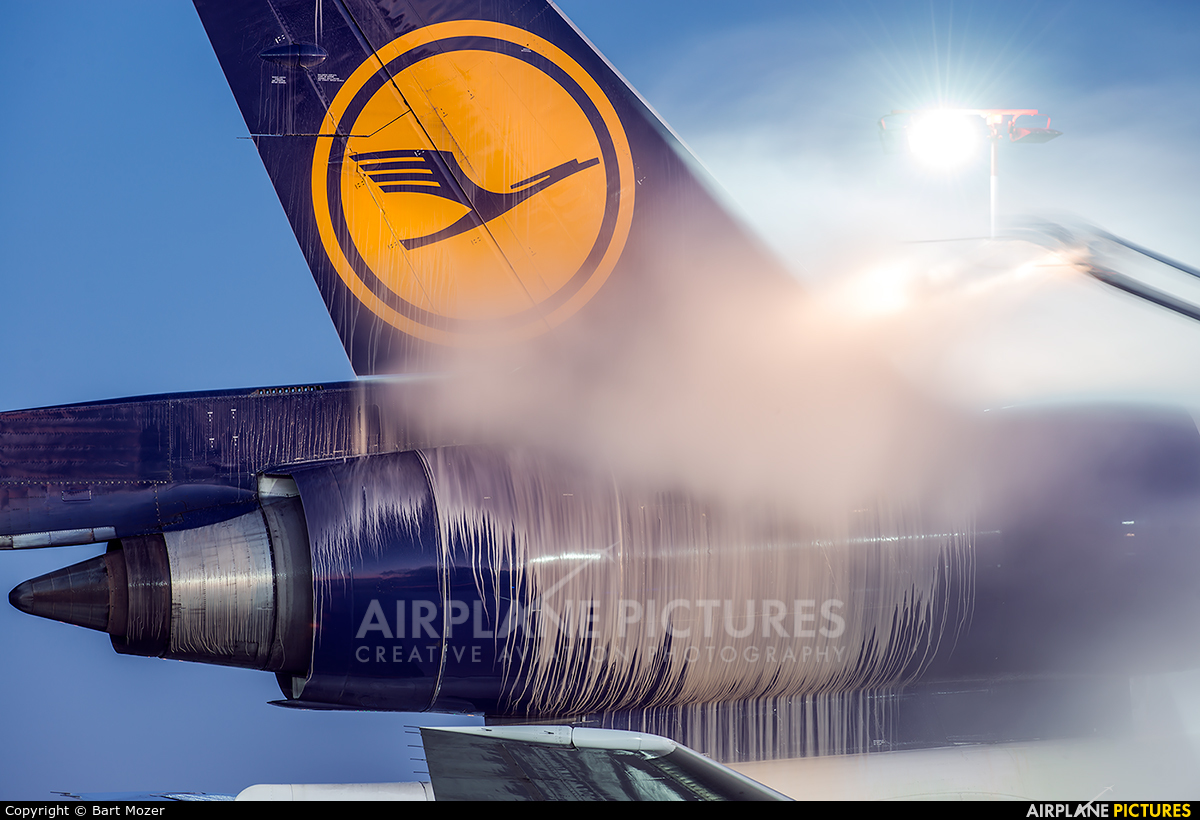Lufthansa Cargo D-ALCS aircraft at Frankfurt