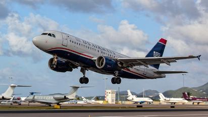 N738US - US Airways Airbus A319