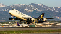 N583UP - UPS - United Parcel Service Boeing 747-400F, ERF aircraft