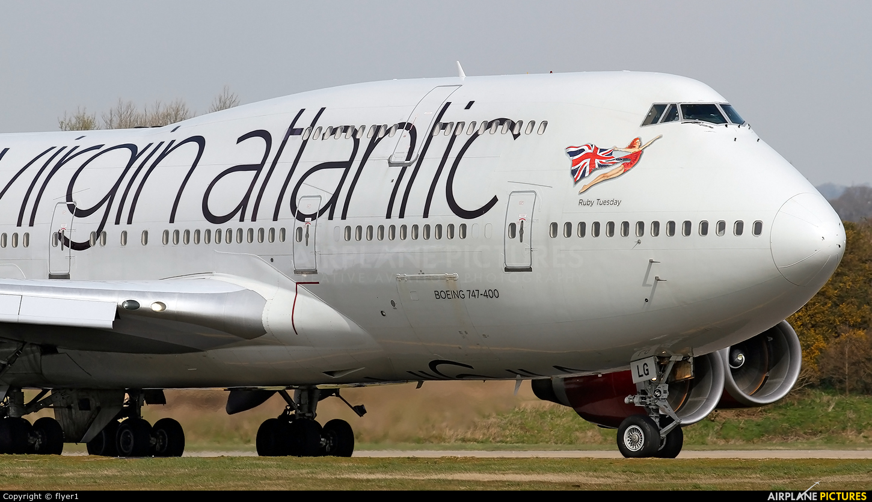 Virgin Atlantic G-VXLG aircraft at London - Gatwick