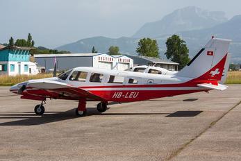 HB-LEU - Gribair Piper PA-34 Seneca