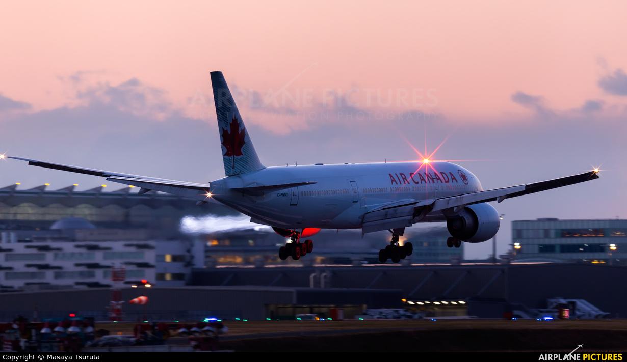 Air Canada C-FNND aircraft at Tokyo - Haneda Intl
