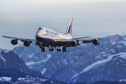 VQ-BHX - Transaero Airlines Boeing 747-400 aircraft