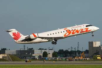 C-GUJA - Air Canada Jazz Canadair CL-600 CRJ-200