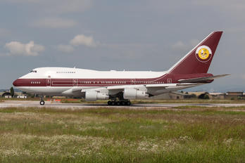 VP-BAT - Qatar Amiri Flight Boeing 747SP