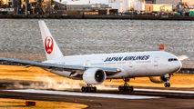 JA710J - JAL - Japan Airlines Boeing 777-200ER aircraft