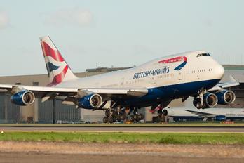 G-BYGE - British Airways Boeing 747-400