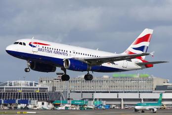 G-EUPT - British Airways Airbus A319