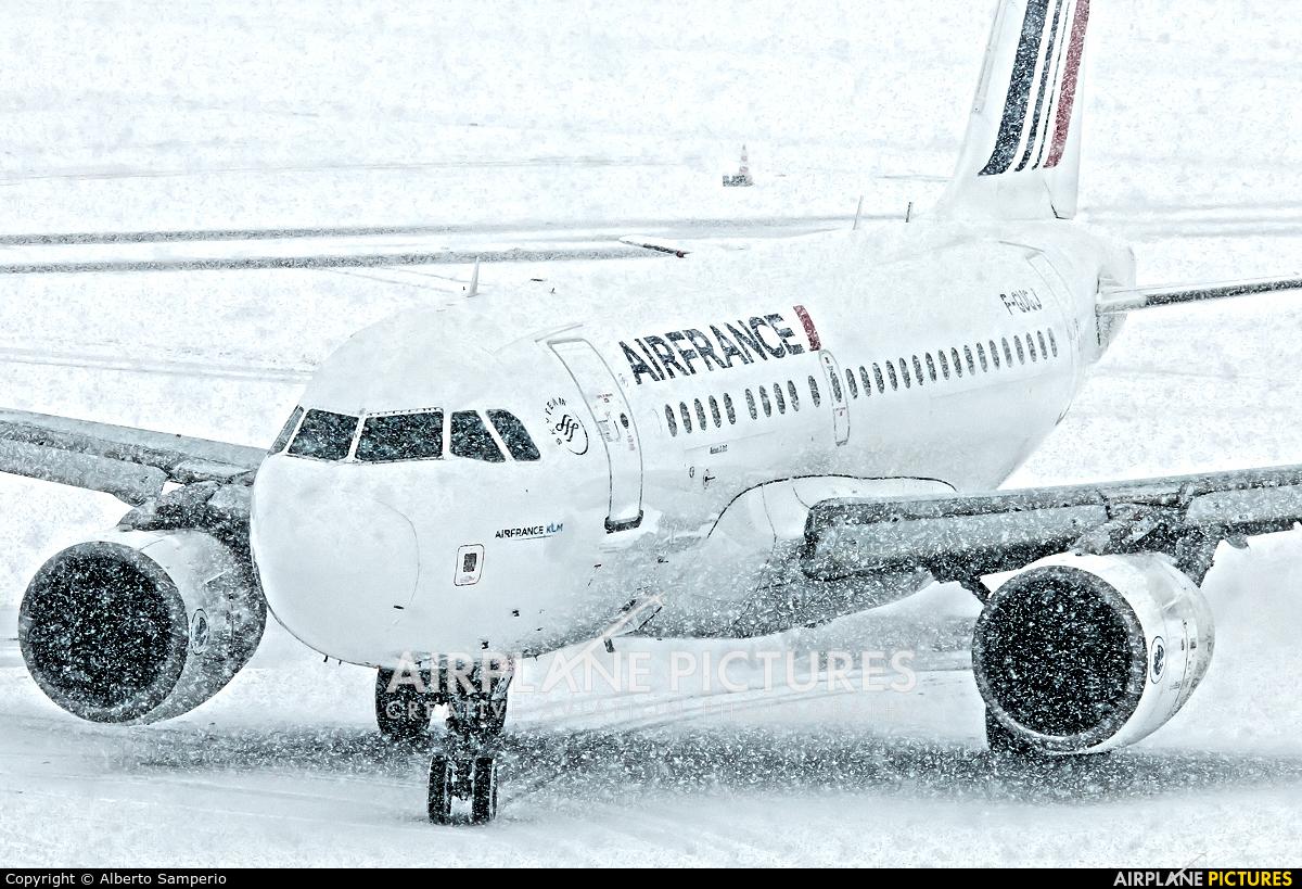 Air France F-GUGJ aircraft at Zurich