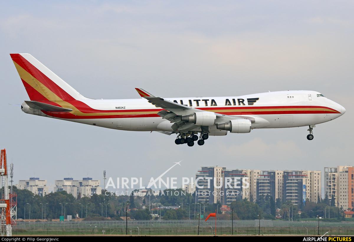Kalitta Air N402KZ aircraft at Tel Aviv - Ben Gurion