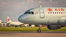 C-FYJI - Air Canada Airbus A319 aircraft