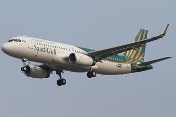 F-WWBH - SaudiGulf Airlines Airbus A320