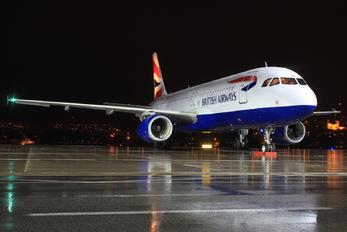 G-EUUW - British Airways Airbus A320