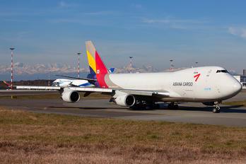 HL7436 - Asiana Cargo Boeing 747-400F, ERF