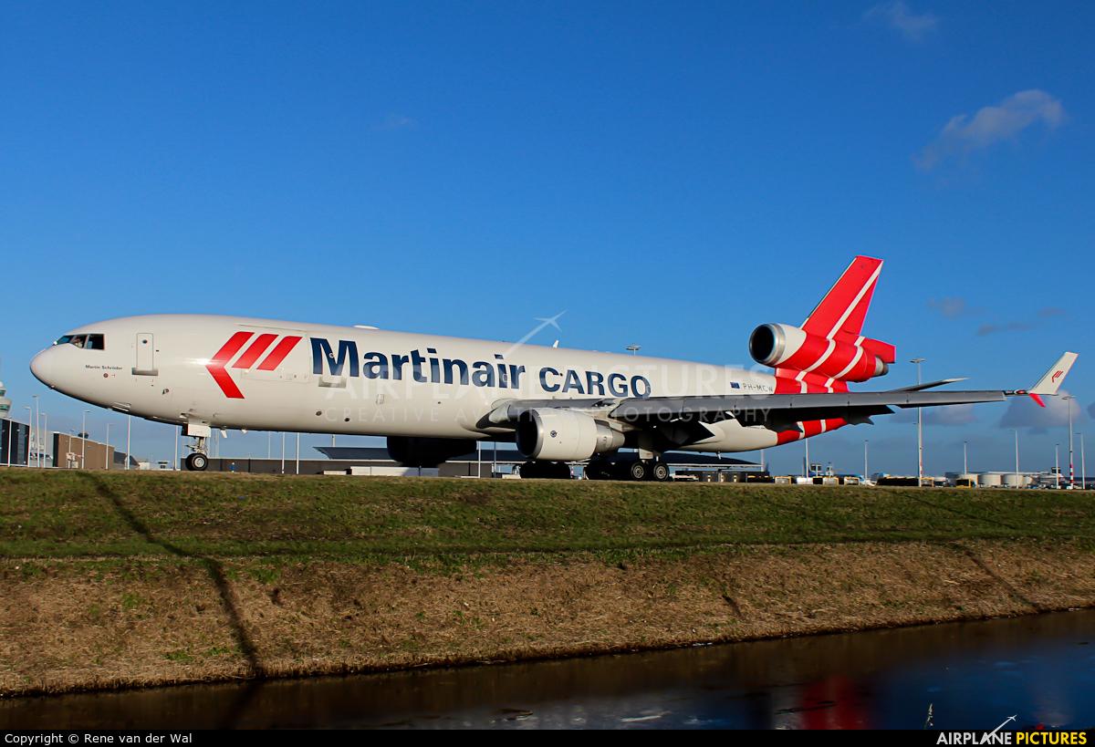 Martinair Cargo PH-MCW aircraft at Amsterdam - Schiphol