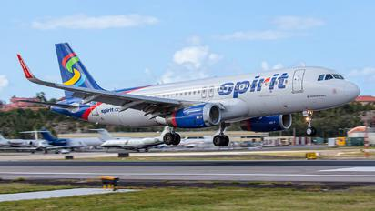 N624NK - Spirit Airlines Airbus A320