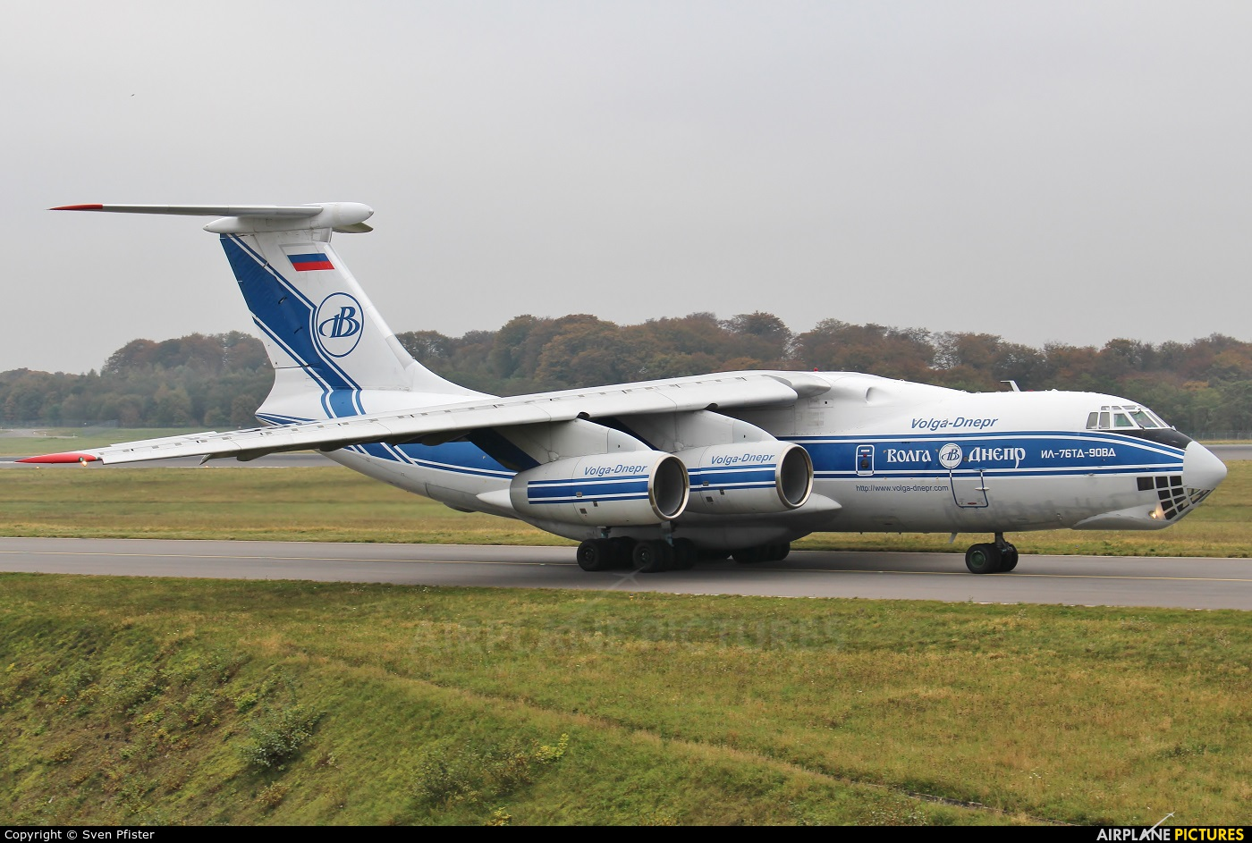 Volga Dnepr Airlines RA-76951 aircraft at Luxembourg - Findel