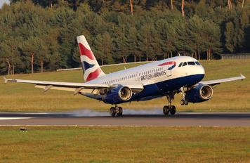G-EUPJ - British Airways Airbus A319