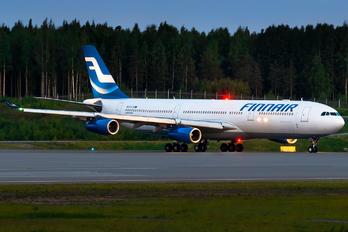 OH-LQB - Finnair Airbus A340-300