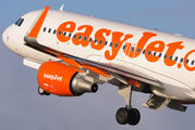 G-EZWP - easyJet Airbus A320 aircraft