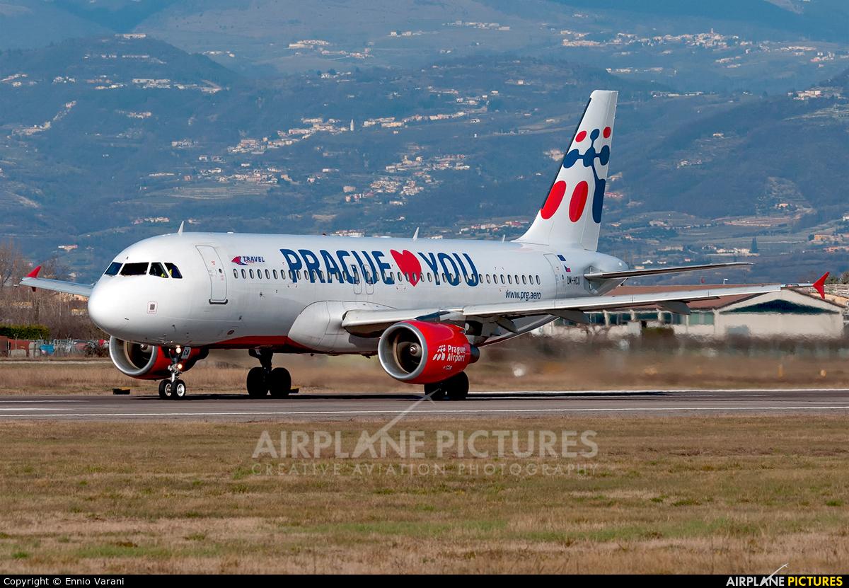 Travel Service OM-HCA aircraft at Verona - Villafranca