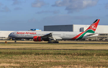 5Y-KZZ - Kenya Airways Boeing 777-300ER