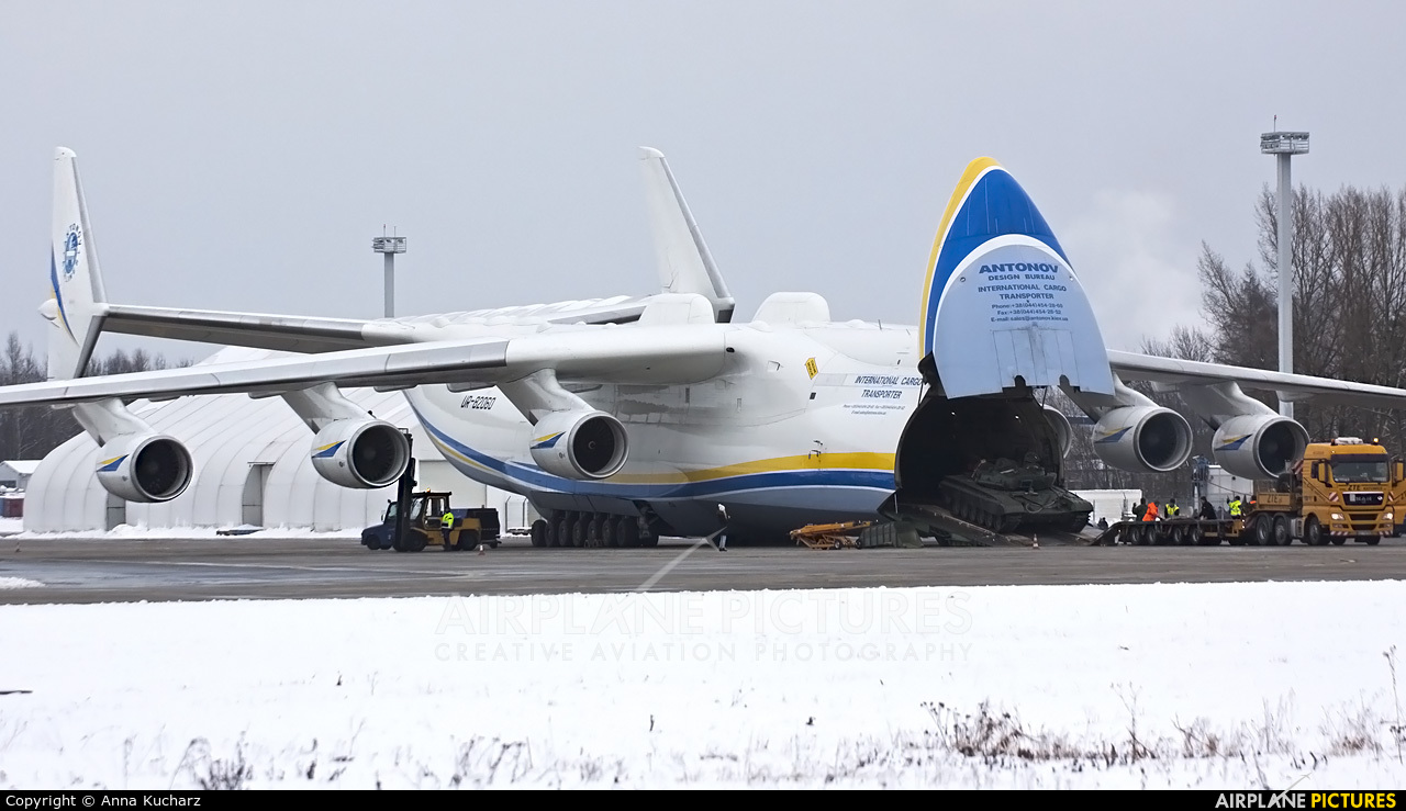Antonov Airlines /  Design Bureau UR-82060 aircraft at Ostrava Mošnov