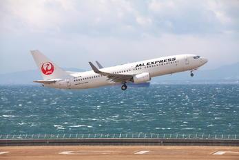 JA346J - JAL - Express Boeing 737-800