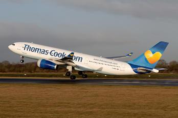 G-MDBD - Thomas Cook Airbus A330-200