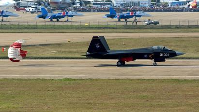 31001 - China - Air Force Shenyang FC-31