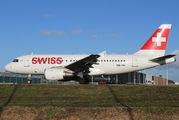 HB-IPV - Swiss Airbus A319 aircraft