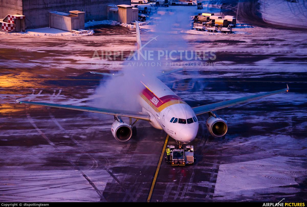 Iberia EC-JDL aircraft at Zurich