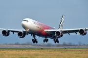 A6-EHJ - Etihad Airways Airbus A340-600 aircraft