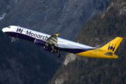 G-OZBO - Monarch Airlines Airbus A321 aircraft