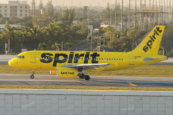 N534NK - Spirit Airlines Airbus A319